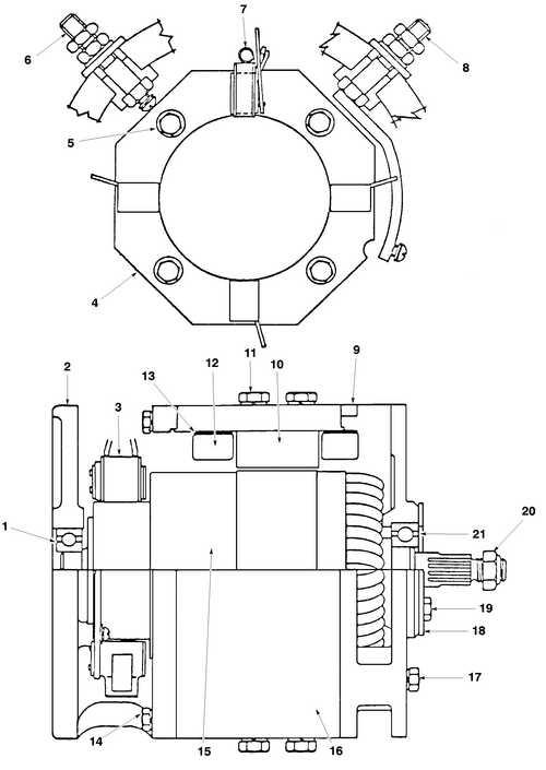 �������� �� drive motor assembly--12 v yale