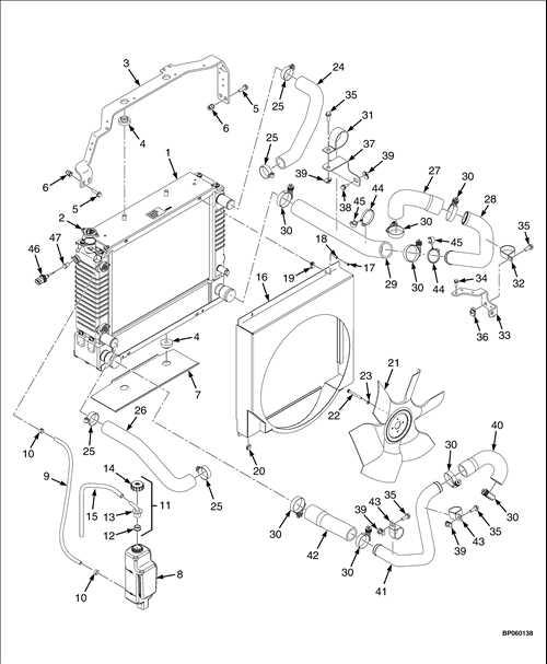 Kubota Cooling System